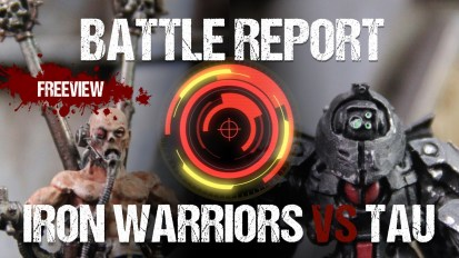 Warhammer 40,000 Battle Report: Chaos vs Tau 1850pts