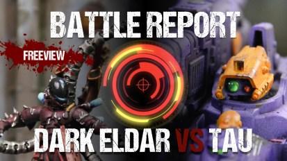 North West Open ITC 40k Battle Report: Dark Eldar vs Tau 1850pts