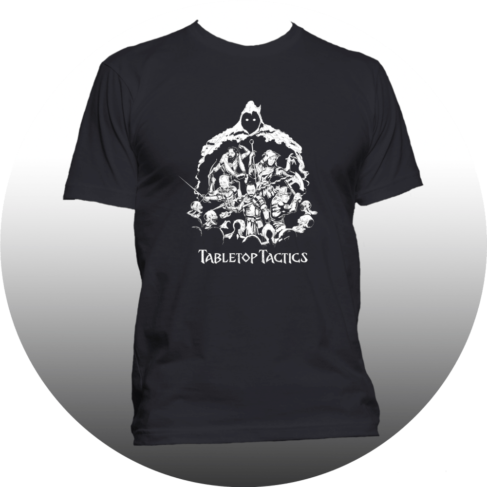Dungeon Party Black T-Shirt