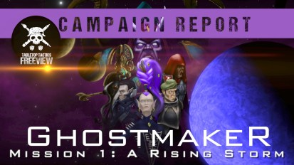 Warhammer 40,000 Campaign Battle Report: Ghostmaker Mission 1- A Rising Storm
