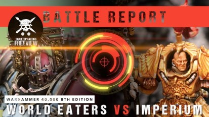 Warhammer 40,000 8th Edition Battle Report: World Eaters vs Imperium 2000pts