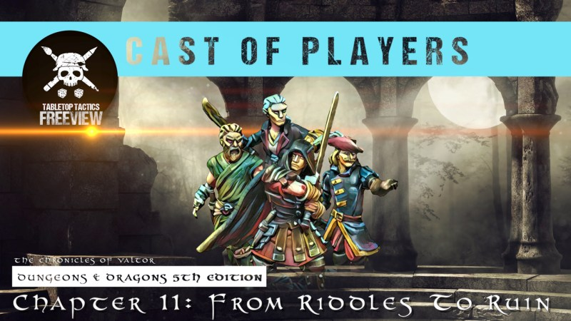 Dungeons & Dragons Cast of Players: Chapter 11 - From Riddles to Ruin