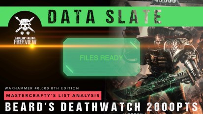 Warhammer 40,000 Data Slate: Mastercrafty's List Analysis – Beard's Deathwatch 2000pts