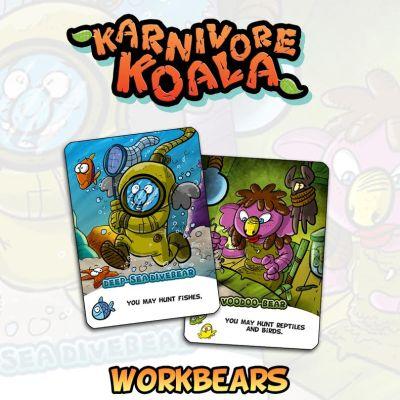 Karnivore Koala - Workbears