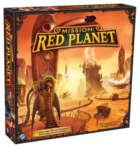 Mission: Red Planet - Box