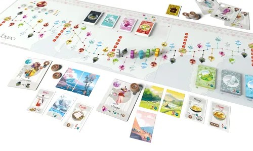 Tokaido - Playing the game