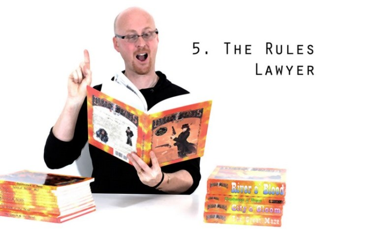Worst Types Of Tabletop Gamer - Rules Lawyer
