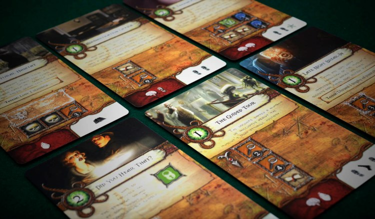 Elder Sign Review - Adventure cards