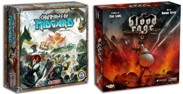 Champions of Midgard Review - Blood Rage