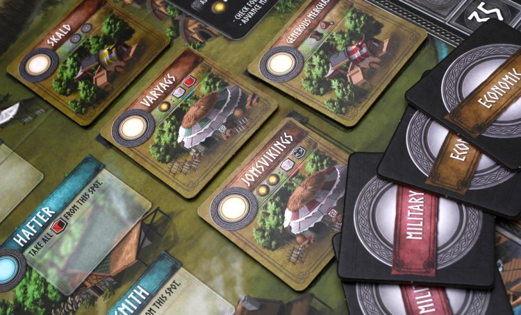 Champions of Midgard Review - Economic and Military
