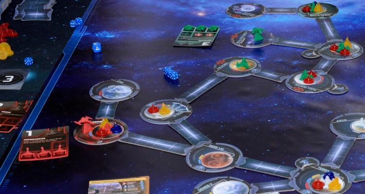 Star Trek Ascendancy - modular board