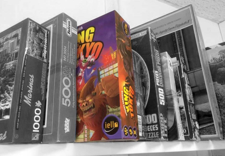 Investing in Board Games - Thrift store