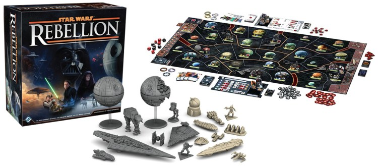 Star Wars games - Rebellion