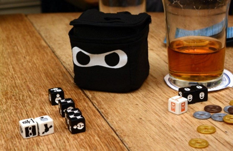 Board Games Are The New Video Games - Beer and Ninja Dice