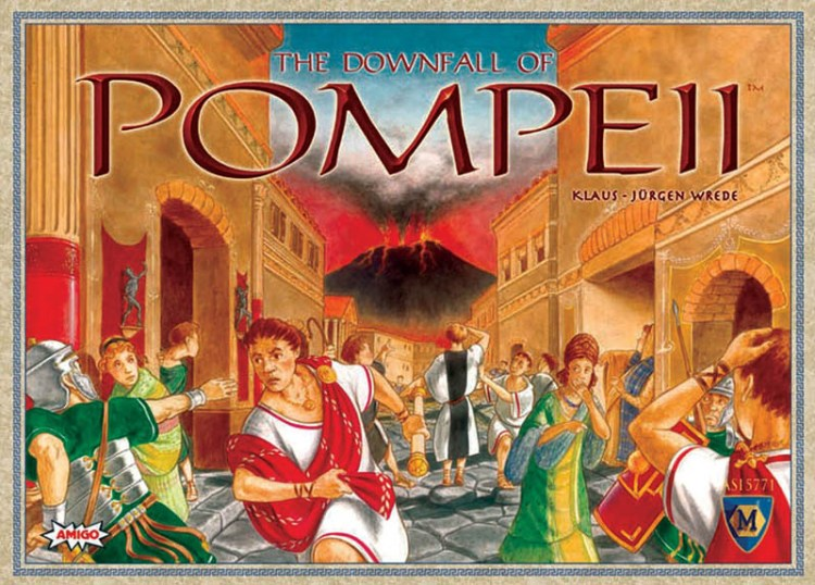 Worst Board Game Box Art Ever - The Downfall Of Pompeii