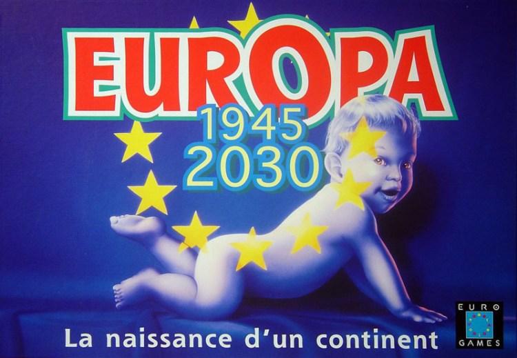 Worst Board Game Box Art Ever - Europa 1945 2030