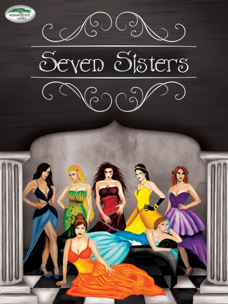 Worst Board Game Box Art Ever - Seven Sisters