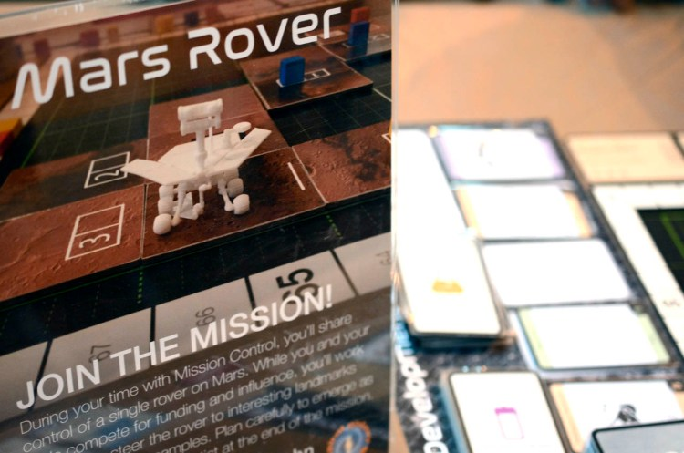 UK Games Expo 2017 Press Preview - Mars Rover