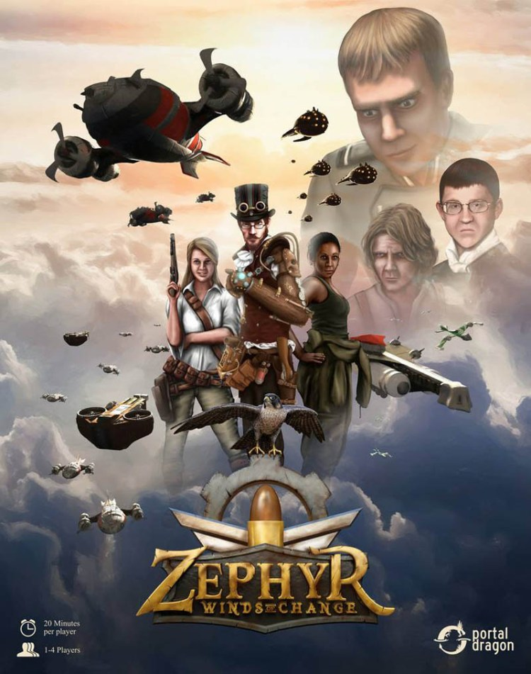 Worst Board Game Box Art Ever - Zephyr Winds Of Change