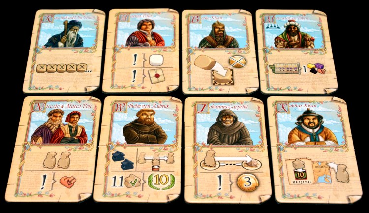 The Voyages of Marco Polo - Characters