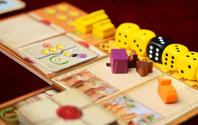 The Voyages of Marco Polo - Player Boards