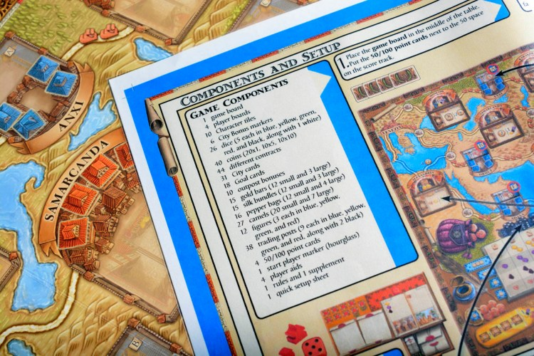 The Voyages of Marco Polo - Set Up Rules
