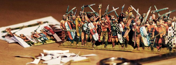 Paper Soldiers - Tabletop Tribe