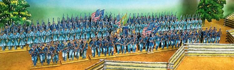 Paper Soldiers - ACW American Civil War