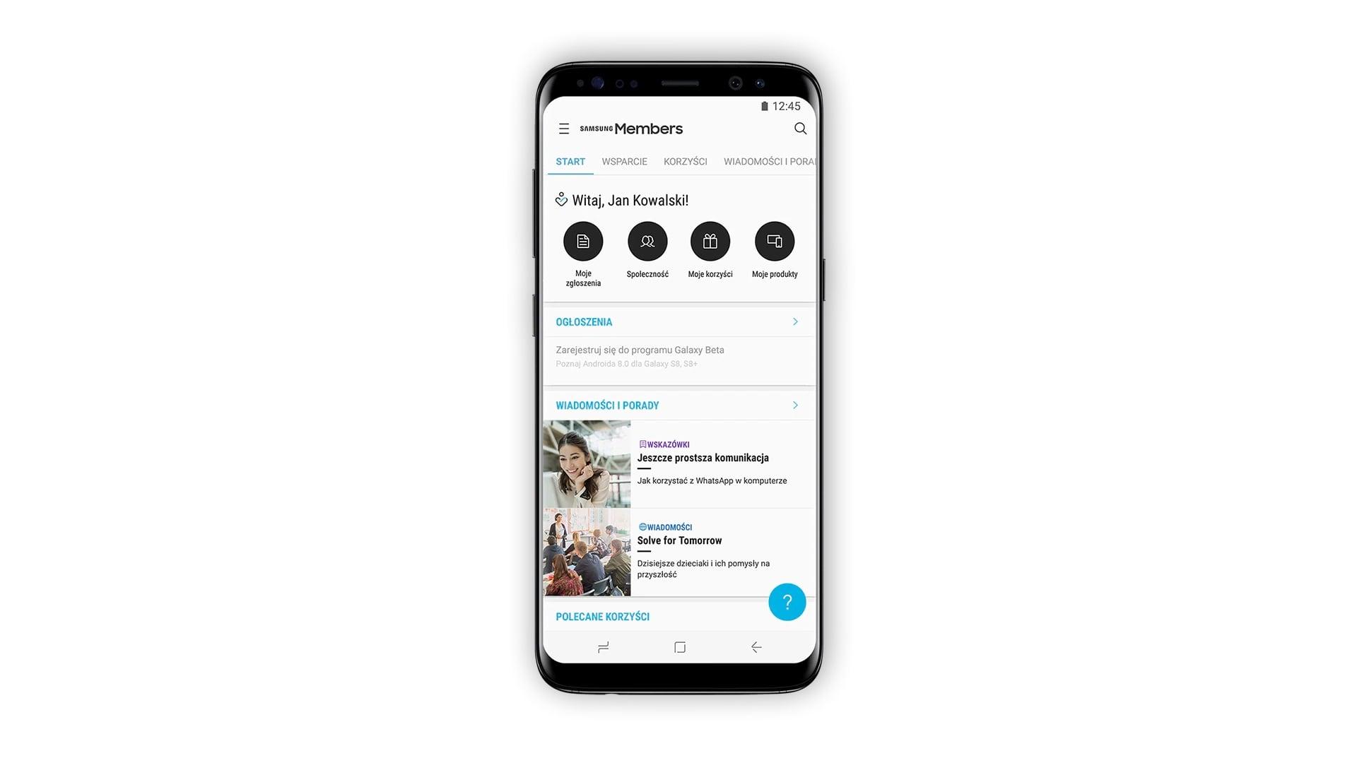 Sprawd Co Przynios Aktualizacje Galaxy S10