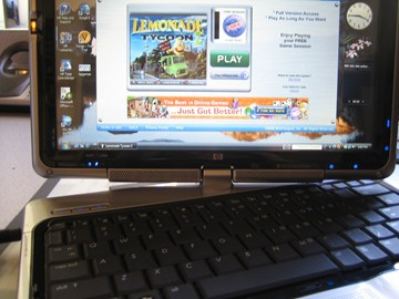 HP TX1000 Entertainment Tablet PC