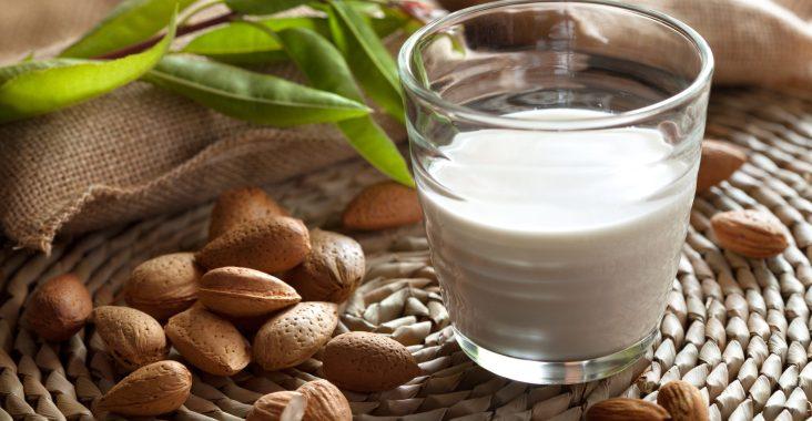 bienfait du lait d'amande