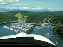 Approach to Roche Harbor