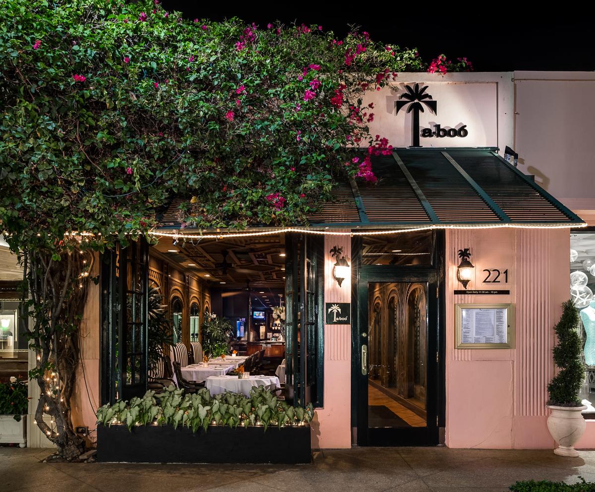 Ta-boo Restaurant | Palm Beach's Legendary American Bistro & Bar ...