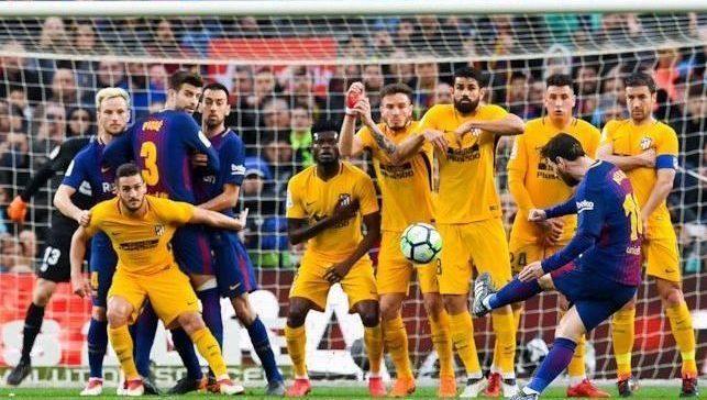 regole calcio punizione messi