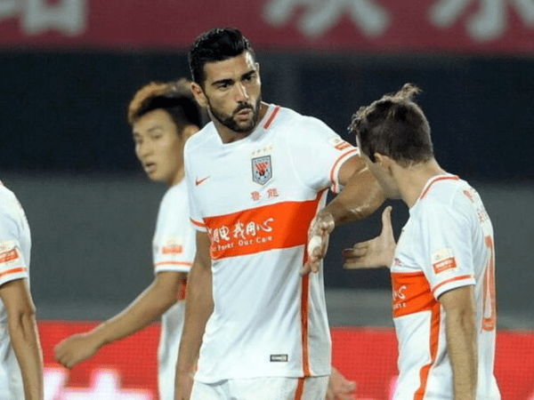 Pelle nella Chinese Super League