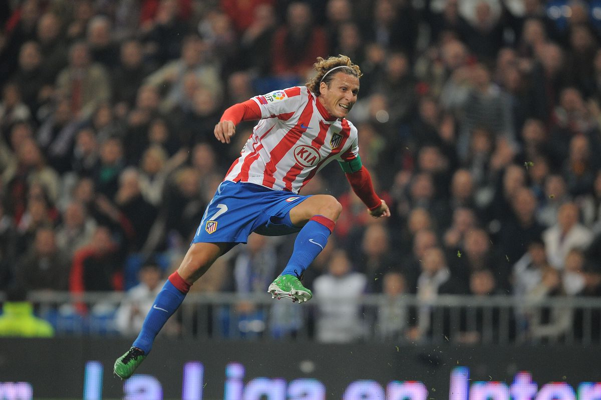Forlan Atletico Madrid
