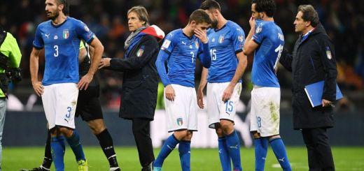 Nazionale Italia eliminata Mondiali
