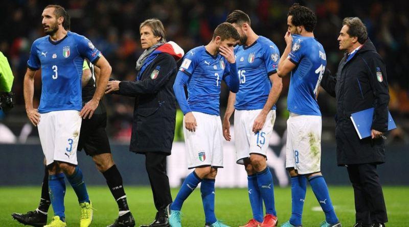 Italia eliminata Mondiali