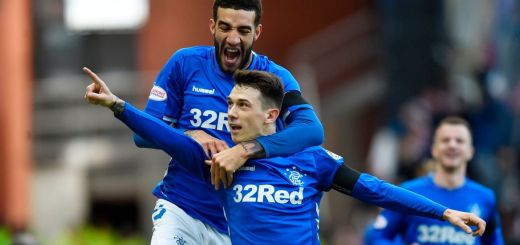 Ryan Jack Glasgow Rangers Old Firm
