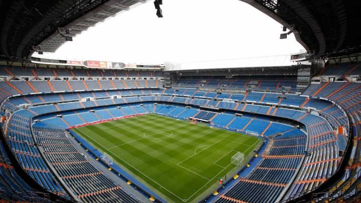 Santiago Bernabeu Real Madrid