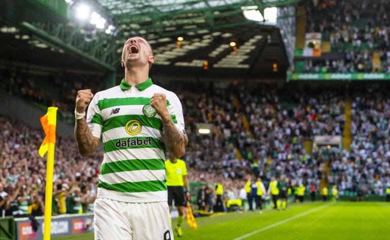 Griffiths celebrates goal