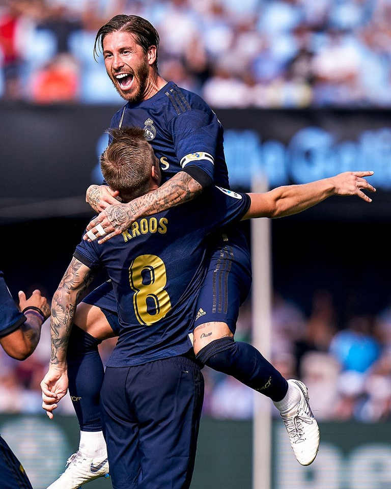 Real Madrid 3 - Celta Vigo 1