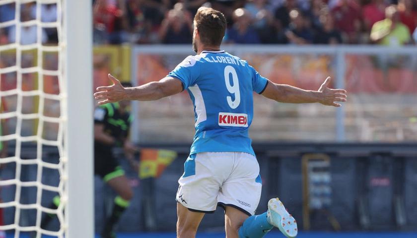 Llorente Napoli Serie A 2019 2020