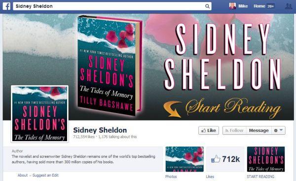 Sidney Sheldon' - www_facebook_com_SidneySheldonBooks