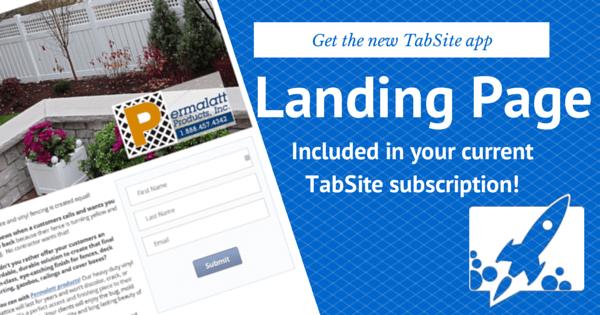 TabSite Landing Page App