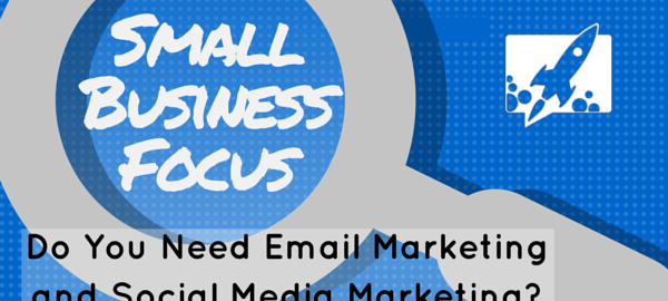 email marketing and social media marketing