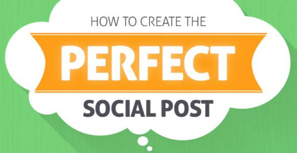 The perfect social media post