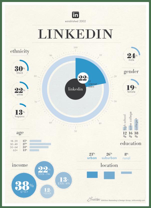 Social Media User Demographics - LinkedIn