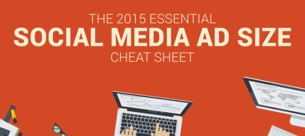 Social Media Ad Sizes Cheat Sheet Infographic Bannersnack