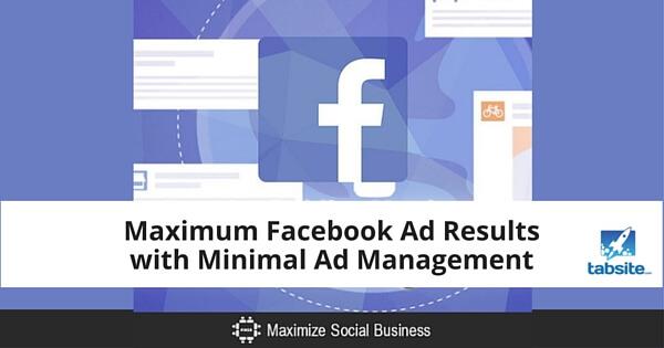 Maximum Facebook Ad Results with Minimal Ad Management 315